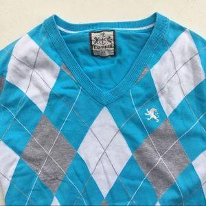 Express Men's V Neck Sweater Pullover